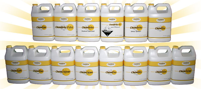 The ChemBrite product line is more effeciant, earth friendly and economical than what the competition has to offer